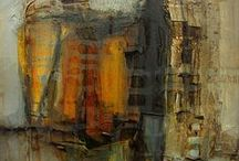 abstract / mostly paintings, with some mixed media and photography / by Lee Anne White
