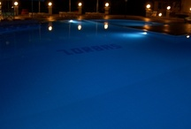 Swimming by Night at the Oudoor Pool