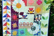 Sampler Quilts / Examples of modern sampler quilts
