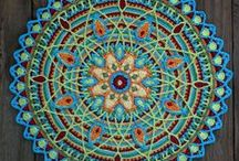 Mandala Love / Crochet Mandala / by Tiffany Pardue