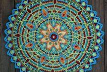 Mandala Love / Crochet Mandala