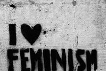 Feminism / Feminism. Egalitarianism. Christianity. Strong Women.   It is about empowering girls to become confident, well educated women. Christian Feminism is NOT an oxymoron. / by Tiffany Pardue