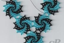 Beaded jewelry ideas, patterns, & tutorials / Be sure to check out my other DIY Jewelry boards. / by Coleen Schoolden
