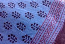 Bagh Print Fabric / Bagh Print is Hand Printing on Fabric in which Natural Vegetable Dyes are used. It is an Organic Fair Trade Fabric. It is an Eco Friendly Fabric, Bio-degradable and Beneficial For Your Skin. / by Designs By Mamta