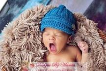 Crochet Hats / A Unique Collection Of Designer Hats Made In Crochet. A Perfect Crochet Gift Choice For Your Loved Ones! More Variety on http://www.MamtaMotiyani.com Cute Patterns/ Designs Of Crochet Hats, Bonnets, Bandanas, Beanie For Your Newborn Baby Girl Or Boy & even Adults.  / by Designs By Mamta