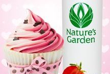 Bakery Scents - Fragrances / Fragrance oils from world famous, Natures Garden, that smell like bakery/food aromas.  Fragrances typically used to make candles, soap, and cosmetics.