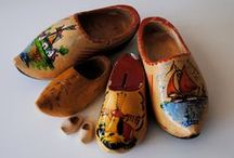 House of Orange / Klompen / Wooden shoes come in all sizes, colors and styles! / by Esther VandeBunte