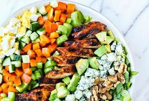 Scrumptious Healthy Salads / Healthy, nourishing, scrumptious salad recipes to inspire you to eat one everyday!