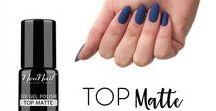 Matowe paznokcie hybrydowe / matte manicure / NeoNail