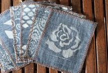 Denim Days Inspiration / Upcycle your old jeans to make new things for your home