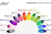 NeoNail Thermo Color / Nowa kolekcja dwunastu, zmieniających się pod wpływem temperatury, lakierów hybrydowych inspirowanych wakacyjnymi koktajlami.