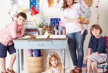 Creative Moms Who Inspire / Compilation of artists and makers who also happen to be intentional mothers. Art, motherhood, parenting, creativity, children, goals, makers, creatives.