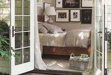 HOME: Bedroom Decor / Beautiful, soothing, sanctuary - a bedroom should be all these things and more.