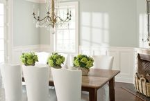 HOME: Dining Room Ideas / Tables, chairs, and other ideas for decorating your dining room.