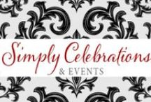My Weddings  / Photos here are from weddings I have done through my business, Simply Celebrations & Events. www.simplycelebrations.com