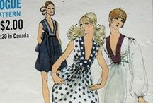Vintage Patterns / Make your own gorgeous fashion / by Etcetorize