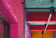De colores. / My palette.