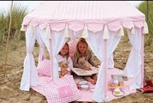 TENTS FOR CHILDREN AND PETS AND PLAY HOUSES