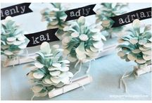TREND: Pinecones & Evergreens / Design, decor, DIY and crafts featuring pinecones and evergreens