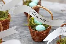 CELEBRATE: Easter and Springtime / Flowers, Eggs, Baskets & Bunnies - all things sweet and wonderful to do with Easter and springtime