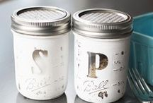 TREND: Mason Jar Mania / Mason, Ball, Weck, Kerr, vintage, new... all jars welcome here!