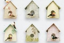 TREND: Beautiful Birdhouses / Birdhouses are trendy and timeless. Here you will find a collection of birdhouses in a variety of styles and themes. There are one-of-a-kind vintage houses to dressed-up dollar store finds and everything in between.