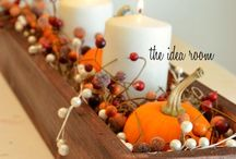 CELEBRATE: Autumn & Thanksgiving / From pumpkins to pilgrims, you will find lots of inspiration to celebrate the fall season.