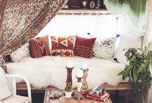 Boho trailer renos / Camping- Boho Gypsy Style