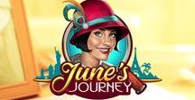 June's Journey / Have you head about June? Play June's Journey Today on iOS & Android! Mystery, Romance, and Adventure Await! Find hidden objects and uncover a mystery!