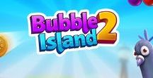 Bubble Island 2 / Bubble Island 2: Fruit Shooter - The bubble shooter with a bang, bounce, and pop! Play for free today on iOS and Android!
