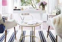 Gorgeous Spaces / Pretty ideas for a beautifully decorated space