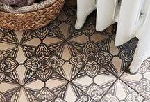 On the Floor - Paint/Tile