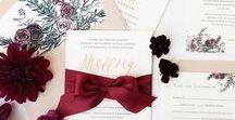 | prs design | / Custom Wedding Invitation from Paper Rock Scissor