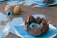 Tischdeko / Mit diesen tollen Ideen für die Tischdeko erhalten Sie eine feierliche Stimmung.