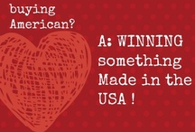 Giveaways: Made in USA / Giveaways! Find American made product giveaways here!