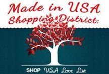 Buy Local/Buy American / Pins that show USA love for buying local and American made products!