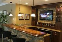Man Cave and Basement Fun Room / by Laura Stainback