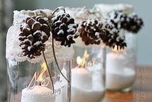 Stylish Christmas Crafts / DIY holiday craft ideas.