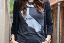 Casual American Made Clothing / American made casual clothing for women, and men.  / by USA Love List