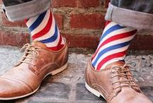 The socks make the man / I like socks.