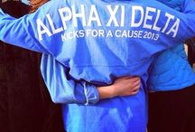 Alpha Xi Delta / by Jacquelyn Bruno
