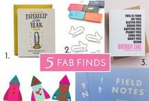 Fridays Five Fab Finds