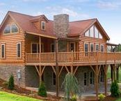 Log Homes / Brock White has All of the Products You Need to Seal, Protect and Beautify Your Log Home.