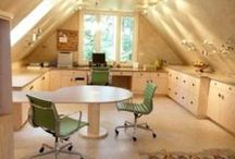 My future craft room / I'm gather inspiration for when I have my very own craft room.