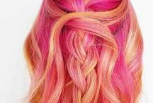 HAIR COLOR INSPIRATION / Beautiful, fun and inspiring hair colors.
