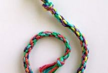 Yarn Projects Ideas / Art projects for kids that use yarn