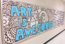 Display Ideas / Ideas for large scale art projects that could go on display at my school. Possibly good for group projects as well.
