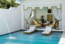 Home {Pools~Cabanas} / Back yard luxuries.