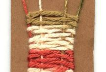 Weaving Project Ideas / Weaving projects found around the web, and on my list of things to do.
