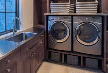 Home {Laundry} / The washing of clothing and linens, the place where that washing is done